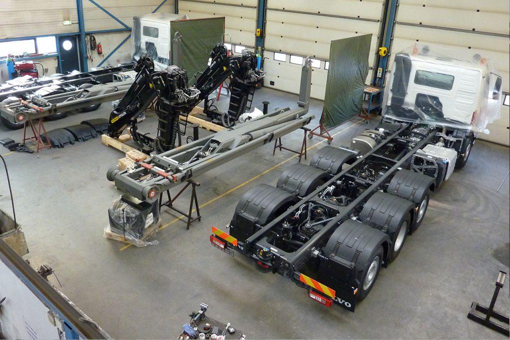 Bevako Truck Hydraulics werkplaats